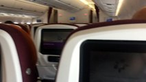 Thai Airways Airbus A350 Bangkok Suvarnabhumi Take Off To London Heathrow October 12, 2017