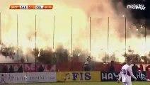 FK Sarajevo - NK Čelik - Bakljada i vatromet Hordi Zla