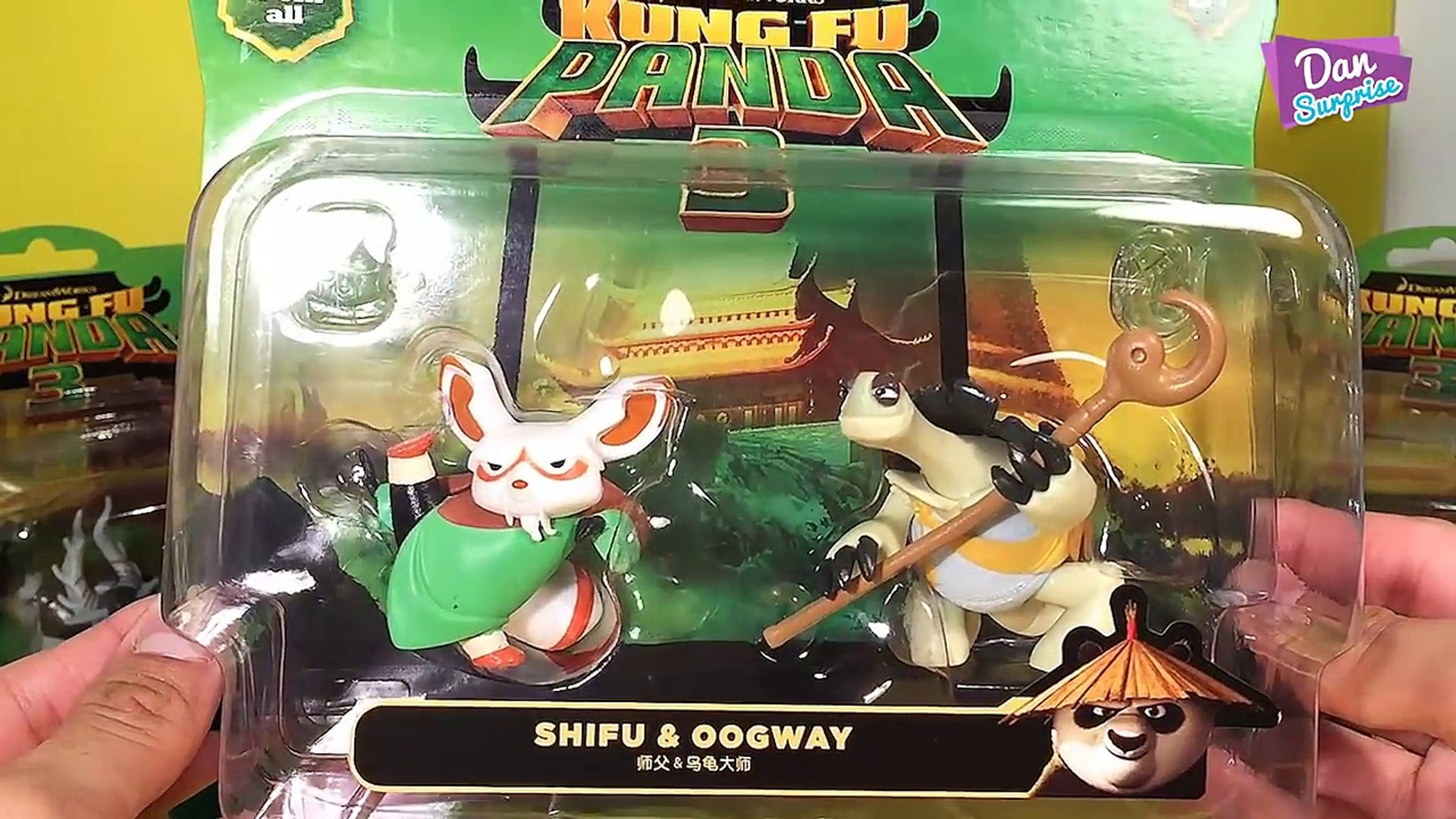 Kungfu Panda 3 Figurine Toy Complete Set Unboxing Characters Intro Video Dailymotion