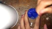 Como fazer amoeba sem água boricada sembicabornato de sódio sem cola sem bórax e sem sabao