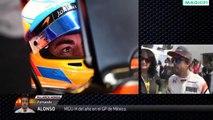 DECLARACIONES ALONSO Y SAINZ POST CARRERA GP MÉXICO 2017 F1