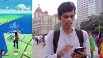 Playing Pokemon GO in PUBLIC!! How to get free pokecoins? Evolutions & Gateway of India!