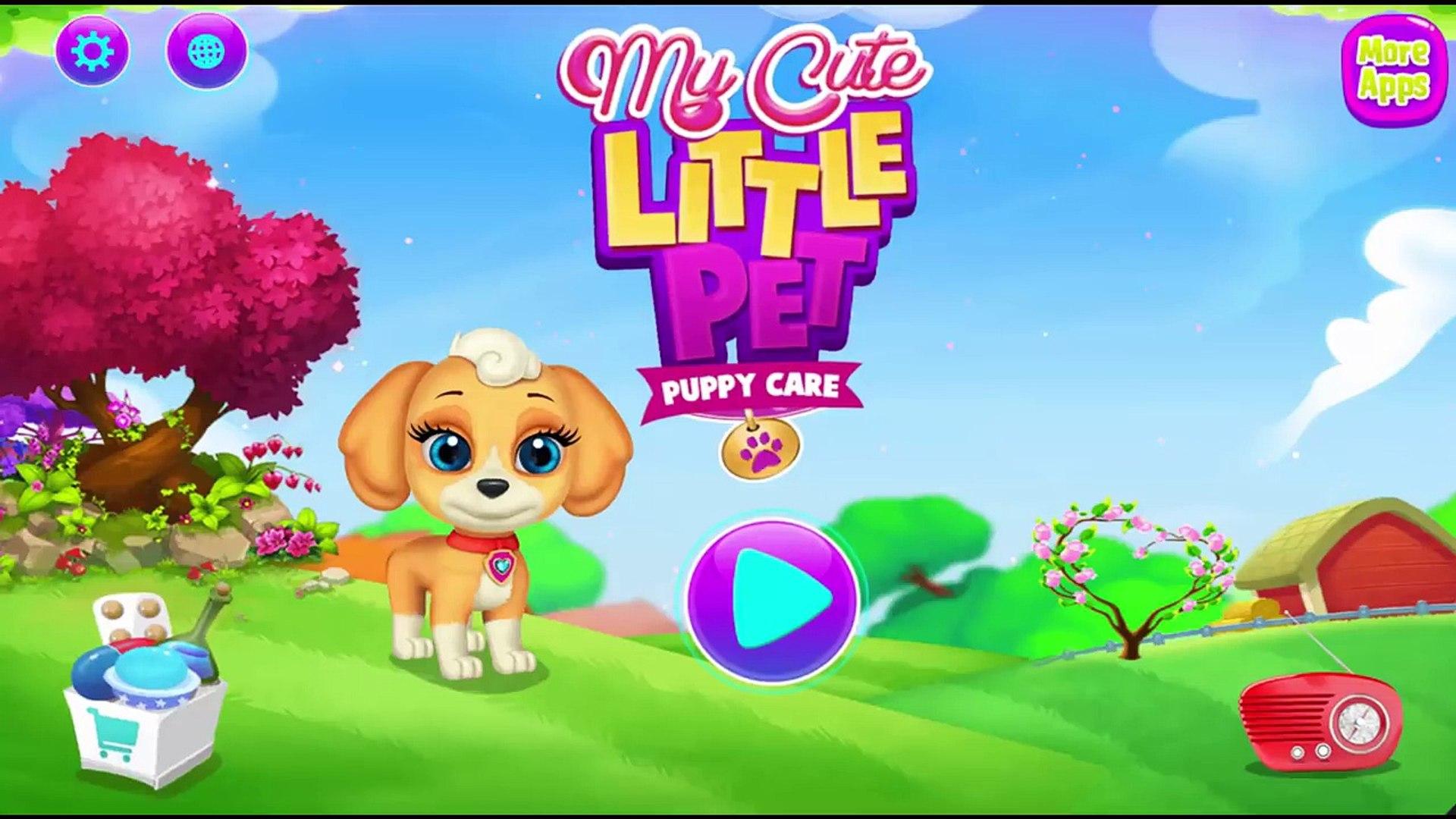 My Cute Little Pet - Kids Learn to Care Cute Little Puppy | Education Kids TV
