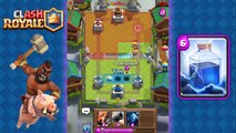 Clash Royale - Amazing Hog Rider + Lightning Deck and Strategy for Arena 5, 6, 7, 8