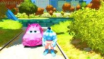 Disney cars Tow Mater & cars Peppa Pig Hulk Childrens Songs Nursery Rhymes