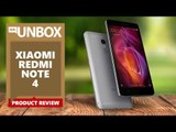 XIAOMI REDMI NOTE 4  REVIEW AND RATING | UNBOXING SHOW | WIDE LENS