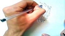 Como Desenhar Seiya de Pégaso (Os Cavaleiros do Zodíaco - Saint Seiya) Desenha fácil
