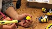 Minion DIY Tutorial 3D PEN (3д ручка) (МИНЬОН рисуем 3д ручкой)