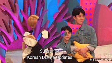 171022 suho sehun spotted kbs hello counselor recording exo exok exom exol smtown suho sehun