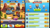 Talking Tom Gold Run ✔ Christmas Update Cyber Angela Versus Hyper Tom HD