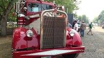 Classic Peterbilt, Kenworth & Mack Trucks Leaving Brooks Truck Show new
