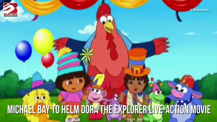 Michael bay to helm dora the explorer live-action movie
