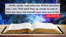10 BIBLE VERSES THAT PROVE JESUS CHRIST IS GOD !!!