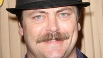 Nick Offerman Discuss Chris Pratt And Anna Faris Split