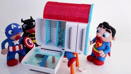 ANTS ATTACK HULK Stop Motion Videos Marvel Superhero Clay Cartoons for Kids