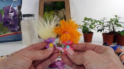 LOL Surprise! Pets Terrarium Craft for kids _ DIY for Surprise toys _ Shopkins, Trolls, Dolls
