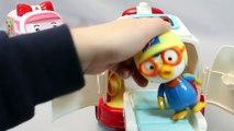 Pororo Poli Ambulance Doctor Kit Toys 뽀로로 구급차 로보카폴리 병원놀이 장난감 Мультики про машинки