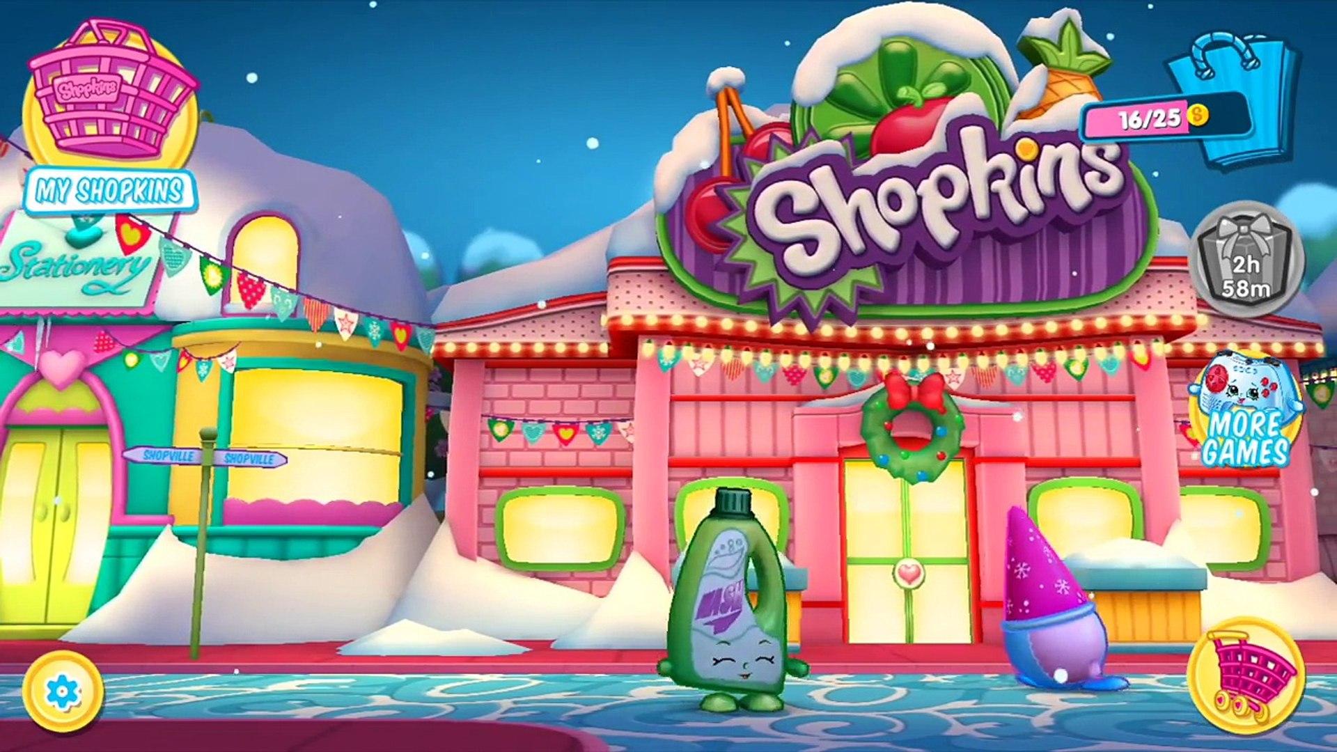 Shopkins World Sled Rides With Shoppie Kirstea Video Dailymotion