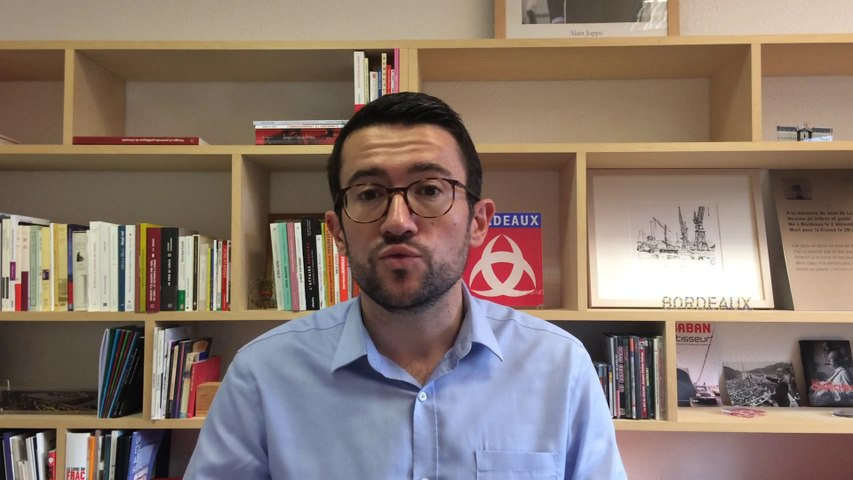 Fabien Robert, adjoint au maire de Bordeaux en charge de la culture