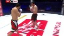 MMA Trata de revivir a su rival tras dejarle KO