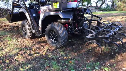 Reviewing the Wild Hare Mfg ATV Implement System