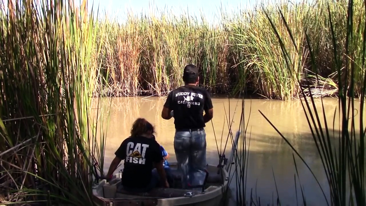Isa And Alex Team Up on A Big Blue Catfish