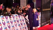 Prince William and Theresa May at Pride of Britain Awards