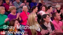 Pretty Little Liars Shay Mitchell Interview In Rachel Ray Show