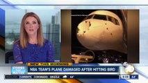 Oklahoma City Thunder's team plane damaged after hitting bird-Dmm1861PFxk