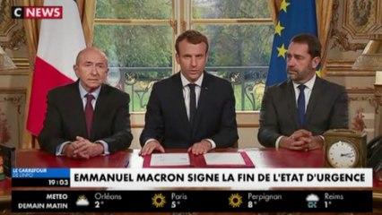 [Zap Actu] Réforme d'admission post-bac et Macron acte la fin de l'état d'urgence (31/10/2017)