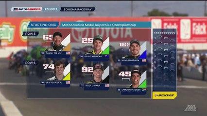 2017 MotoAmerica Championship At Sonoma Raceway Superbike Race 2