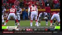 Denver Broncos wide receiver Bennie Fowler puts on a juke clinic against the Kansas City Chiefs