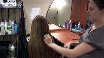 Long Hair Layers Hair Cut // Natural Hairstyles // Round Layers Haircut
