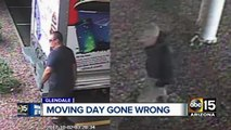 Woman wakes up to find her items stolen from a secured U-Haul truck