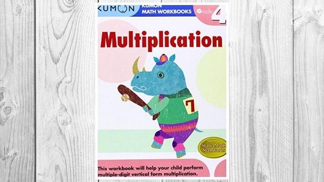 Download PDF Grade 4 Multiplication (Kumon Math Workbooks) FREE