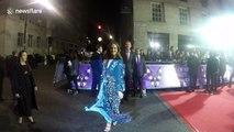 Alesha Dixon arrives at the Pride Of Britain Awards