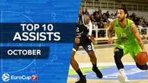 7DAYS EuroCup, Top 10 Assists, October