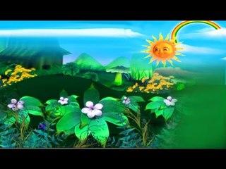 കുട്ടികൾക്കായി പൂക്കളെക്കുറിച്ചൊരു പാട്ട് # Rhymes For Children # Malayalam Animation For Children