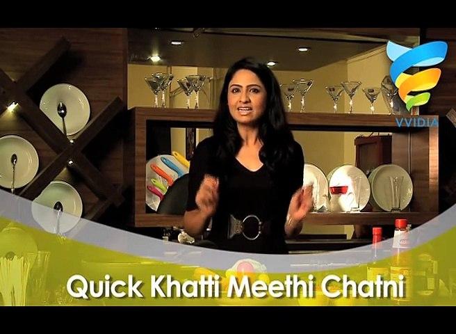 Quick Khatti Meethi Chatni Recipe