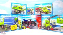 Playmobil City Action! Tow Truck, Recycling Truck, Lawn Mower and More!!