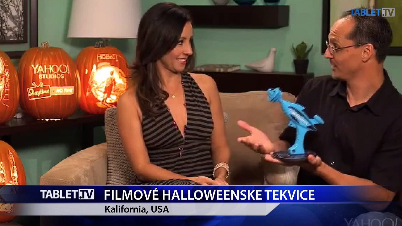 Videli ste už filmové halloweenske tekvice?