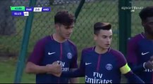 2-0 Metehan Guclu Goal UEFA Youth League  Group B - 31.10.2017 PSG Youth 2-0 Anderlecht Youth