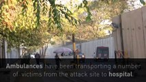 At least four dead in Kabul suicide bombing near US Embassy