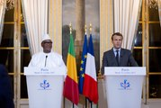 Déclaration conjointe du Président de la République Emmanuel Macron avec M. Ibrahim Boubacar Keïta, Président de la République du Mali