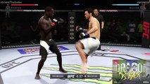 "UFC Fight Night 119   Derek Brunson vs. Lyoto ""The Dragon"" Machida   Fight Simulation"