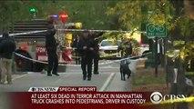 New-York: Un camion fonce sur des cyclistes puis l'homme serait sorti avec une arme peut-être factice - 6 morts et 15 bl