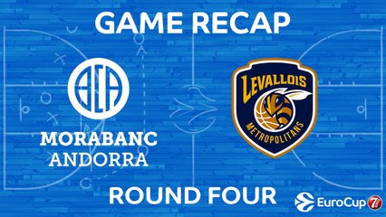 7Days EuroCup Highlights Regular Season, Round 4: Andorra 79-61 Levallois