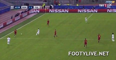 3-0 Diego Perotti  Goal HD - AS Roma 3-0 Chelsea 31.10.2017 HD