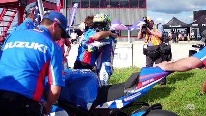 Yoshimura Suzuki Toni Elias Barber Motorsports Park