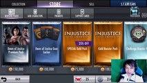 Injustice Mobile: Update 2 10 Dawn of Justice Premium Pack